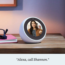 Load image into Gallery viewer, Echo Spot - Smart Alarm Clock with Alexa - Black, Black