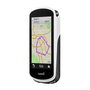 "Garmin - Edge 3.5"" GPS with Built-In Bluetooth - White/Black"