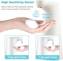 Load image into Gallery viewer, LAOPAO Soap Dispenser, Touchless Foaming Dispenser Hand Free Countertop...