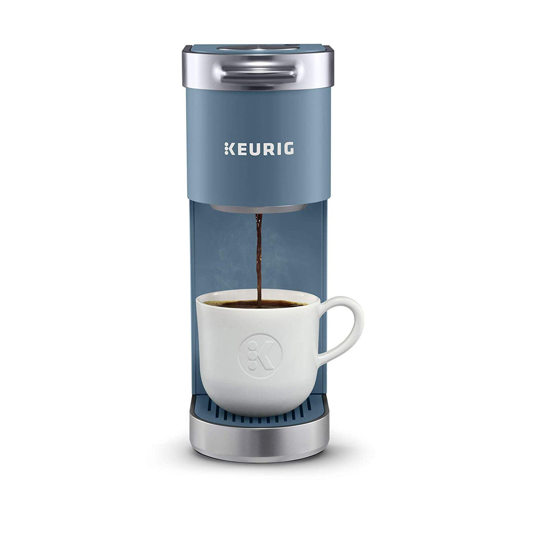 Keurig K-Mini Plus Coffee Maker, Single Serve K-Cup Pod Evening Teal