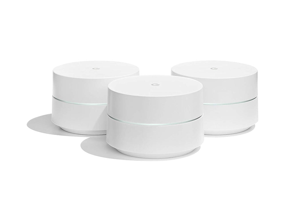Google WiFi system, 3-Pack - Router replacement for whole home coverage...