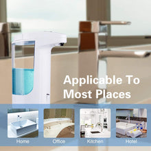 Load image into Gallery viewer, Automatic Soap Dispenser,370ml Liquid Dispenser Shower Touchless...