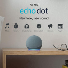 Load image into Gallery viewer, All-new Echo Dot (4th Gen) | Smart speaker with Alexa | Twilight Blue