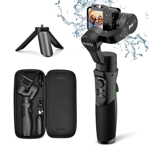 Hohem 3-Axis Gimbal Stabilizer for GoPro Hero 7/6/5/4/3, DJI Osmo Action, Yi...