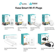 Load image into Gallery viewer, Kasa Smart WiFi Outdoor Plug by TP-Link– Outlets, Plug, Works with Alexa &...