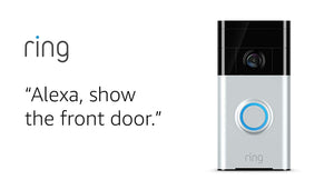 Ring Video Doorbell with HD Video, Motion Activated Alerts, Easy...