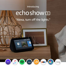 Load image into Gallery viewer, Echo Show 5 - Compact smart display with Alexa - Charcoal