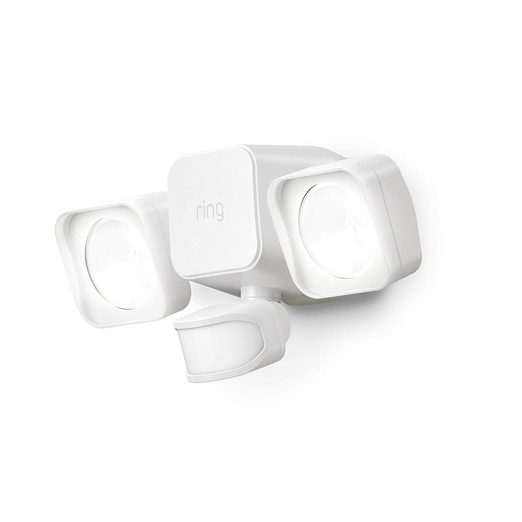 Introducing Ring Smart Lighting - Floodlight, Battery - White
