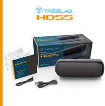 Load image into Gallery viewer, TREBLAB HD55 - Deluxe Bluetooth Speaker - Impeccable 360° HD Surround Sound...