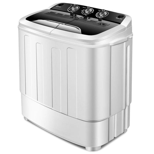 Giantex Portable Compact 13 Lbs Mini Twin Tub 23