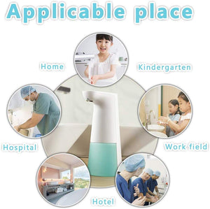 LAOPAO Soap Dispenser, Touchless Foaming Dispenser Hand Free Countertop...