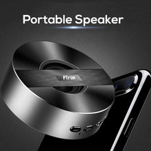 Load image into Gallery viewer, PTron Music Bot BT Mini Portable Wireless Bluetooth Speaker for All Mobiles...