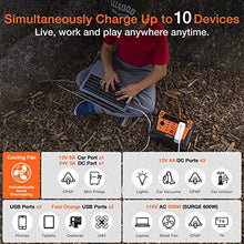 Load image into Gallery viewer, AIMTOM 300-Watt Portable Power Station - 280Wh Battery Powered Generator...