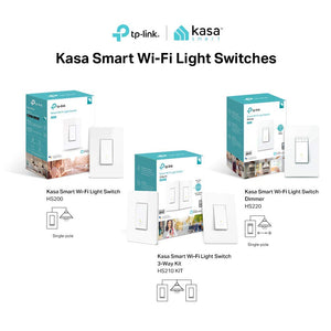Kasa Smart Wi-Fi Light Switch, 3-Way Kit by TP-Link - Control Lighting from...
