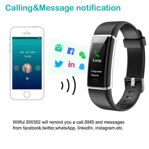 Willful Fitness Tracker, Heart Rate Monitor Watch Activity Tracker(14 Modes)...