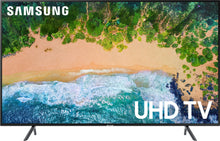 "Load image into Gallery viewer, Samsung - 75"" Class - LED - NU7100 Series - 2160p - Smart - 4K UHD TV with HDR"