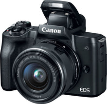 Load image into Gallery viewer, Canon - EOS M50 Mirrorless Camera with EF-M 15-45mm f/3.5-6.3 IS STM Zoom...
