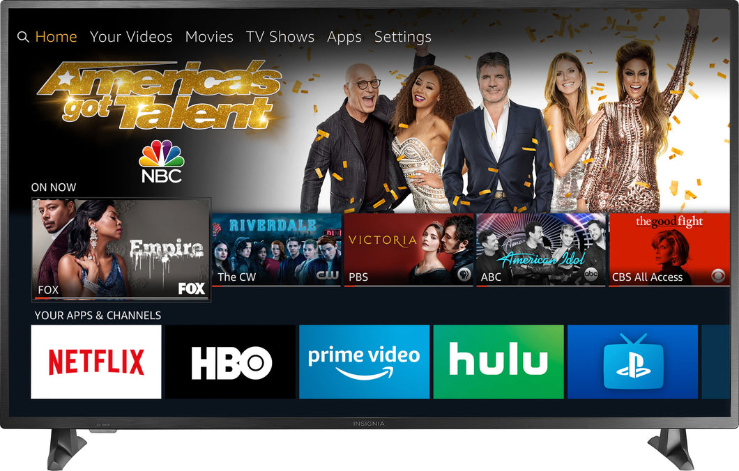 "Insignia™ - 55"" Class – LED - 2160p – Smart - 4K UHD TV with HDR – Fire Edition"