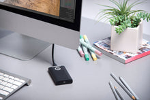Load image into Gallery viewer, G-Technology - G-DRIVE Mobile SSD R-Series 500GB External USB Black/Silver