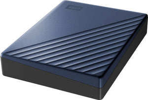 WD - My Passport Ultra 4TB External USB 3.0 Portable Hard Drive with Blue