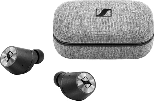 Sennheiser - MOMENTUM True Wireless Earbud Headphones - Silver/Black