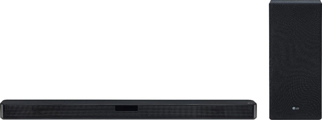 LG - 2.1-Channel Soundbar with Wireless Subwoofer and DTS Virtual: X - Black