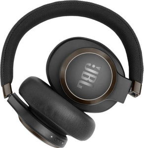 JBL - LIVE 650BTNC Wireless Noise Cancelling Over-the-Ear Headphones - Black