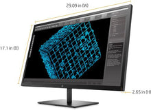 "Load image into Gallery viewer, HP - Pavilion 32"" LED QHD Monitor - Black"