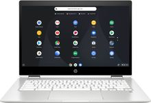 "Load image into Gallery viewer, HP - 2-in-1 14"" Touch-Screen Chromebook - Intel Celeron - 4GB Memory - 32GB..."