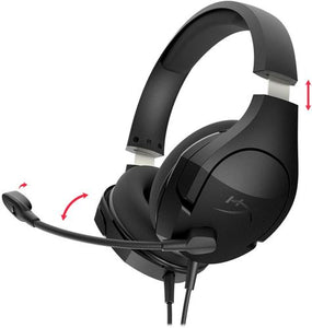 HyperX - Cloud Stinger Core Wired Stereo Gaming Headset - Black