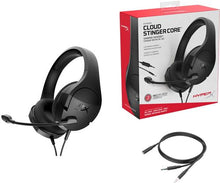 Load image into Gallery viewer, HyperX - Cloud Stinger Core Wired Stereo Gaming Headset - Black