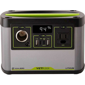 Goal Zero - Yeti 200X Battery-Powered 187Wh Capacity Portable Generator -...