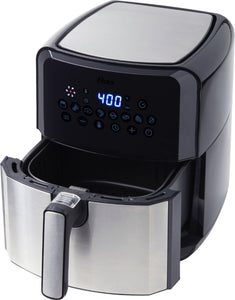 Oster - DiamondForce Nonstick  XL 5 Quart Digital Air Fryer - Black