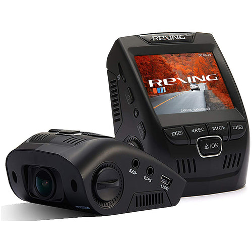 Rexing V1 Basic 1080p Front Dash Cam - Black