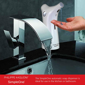 Simpleone Automatic Touchless Soap Dispenser New Improved Design – White