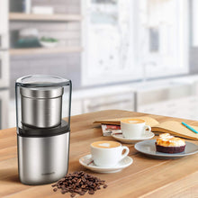 Load image into Gallery viewer, SHARDOR Electric Coffee Bean Grinder, Spice 1 CG715S, sliver