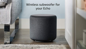 Echo Sub - Powerful subwoofer for your - requires compatible Charcoal