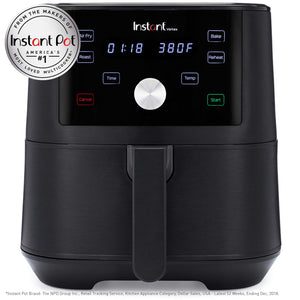 Instant Vortex 4-in-1 Air Fryer, 6 Quart, 4 One-Touch 6 quart, N Applicable