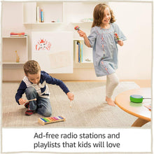 Load image into Gallery viewer, Echo Dot Kids Edition, a smart speaker with Alexa for kids - punch red case,...