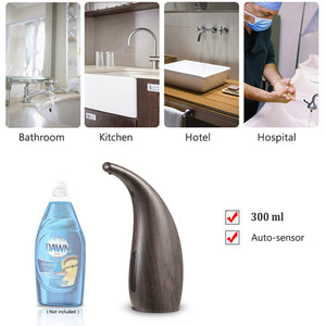 PAOPOW Automatic Soap Dispenser, Touchless Dispenser 300ML Electric...