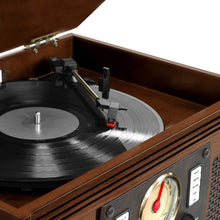 Load image into Gallery viewer, Victrola Navigator 8-In-1 Classic Bluetooth Record 1SFA, Brown (Espresso)