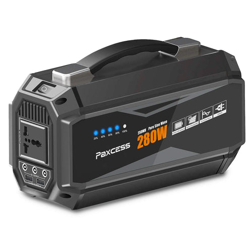 PAXCESS Portable Power Station Generator-[280W / Generator Portable-280w-new