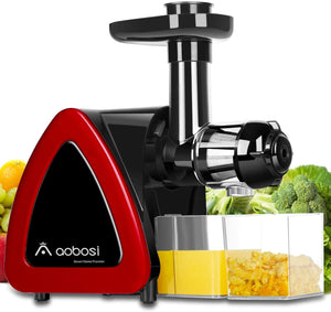 Aobosi Slow Masticating juicer Extractor, Cold Press Juicer Machine, Quiet...
