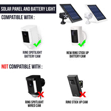 Load image into Gallery viewer, Outdoor Motion Battery Spotlight and Solar Panel 1 & Light