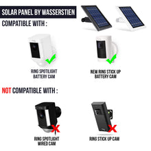 Load image into Gallery viewer, Solar Panel for Ring Spotlight Camera, Power Your 1