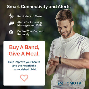 FOMO Fit 2019 Fitness Tracker Designed in California. with GPS, GPS-GREEN