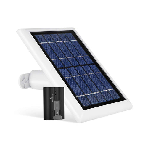 Solar Panel and 1-Pack Rechargeable Battery Bundle 1 & 1