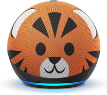 Load image into Gallery viewer, All-new Echo Dot (4th Gen) Kids Edition | Designed for kids, with Tiger