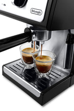 "Load image into Gallery viewer, DeLonghi ECP3420 Bar Pump Espresso and Cappuccino Machine, 15"", Black"
