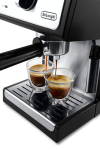 "DeLonghi ECP3420 Bar Pump Espresso and Cappuccino Machine, 15"", Black"